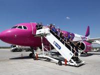 Wizz Air deschide a sasea baza din Romania, la Iasi. Un Airbus A320 va opera cinci rute noi din capitala Moldovei