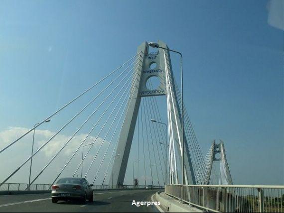 Podul de la Agigea, inchis in totalitate, din 1 septembrie. Autostrada Soarelui intra in reparatii