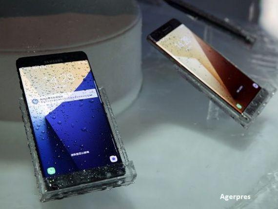 Samsung limiteaza capacitatea de incarcare a bateriilor de pe Galaxy Note 7, ca sa evita explodarea acestora