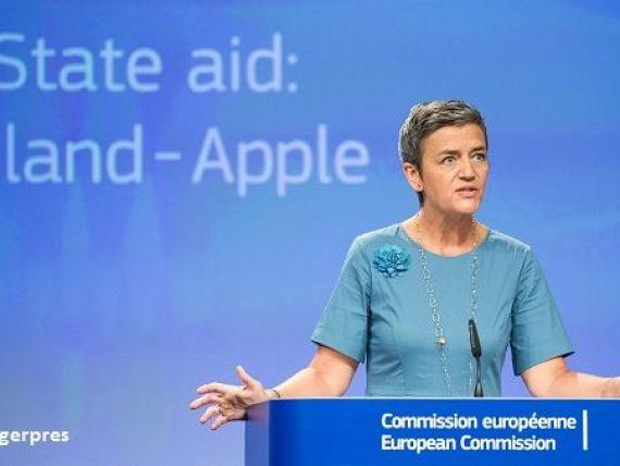 Comisia Europeana obliga Irlanda sa recupereze de la Apple 13 mld. euro. Grupul american ar fi beneficiat ilegal de facilitatile fiscale din aceasta tara. Reactia Apple