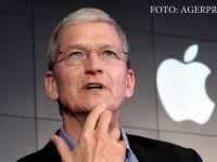 """Seful Apple spune ca a pus deoparte """"mai multe miliarde de dolari"""" pentru achitarea obligatiilor fiscale in Europa si catalogheaza decizia CE ca fiind """"o stupiditate politica absoluta"""""""