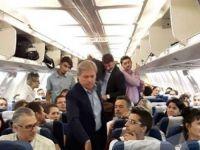 Dacian Ciolos a calatorit cu o cursa de linie a Tarom, la clasa Economic, intr-o vizita oficiala in Germania