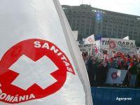 Angajaţii din sistemul sanitar protestează, joi, în Piaţa Victoriei. Ce străzi sunt închise