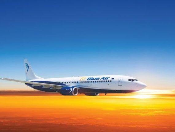Blue Air introduce zboruri interne catre Constanta, din 2017. Numarul turistilor pe litoral vor creste cu 40%
