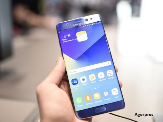 Samsung recheama 2,5 mil. telefoane Galaxy Note 7 de pe zece piete, dupa ce bateriile au luat foc. Sud-coreenii au pierdut 14 mld. dolari din capitalizarea bursiera