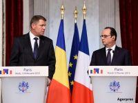 Transportatorii ii cer lui Klaus Iohannis sa abordeze, cu presedintele François Hollande, problema salariului minim in Franta. Cum ii afecteaza legislatia franceza