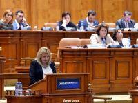 Anca Dragu: Romania are o crestere economica sustenabila, dar este necesara continuarea reformelor. Bugetul pe 2017, intocmit de viitorul Guvern