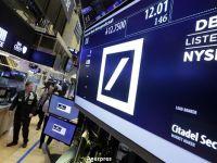 Actiunile Deutsche Bank pierd inca 9% pe bursa de la Frankfurt, generand incertitudine pe pietele din intreaga lume. Fondurile speculative isi retrag banii din banca