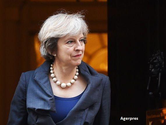 Declaratie dura a premierului britanic la adresa UE, care ar putea indica un Brexit dificil. Lira sterlina atinge un nou minim record fata de dolar