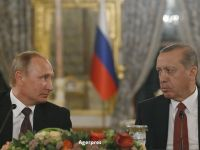 Rusia si Turcia au semnat acordul pentru constructia Turkish Stream, gazoductul care va alimenta Europa cu gaze rusesti pe sub Marea Neagra