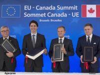 Romanii si bulgarii vor calatori fara vize in Canada. Ce este CETA, acordul comercial semnat intre Bruxelles si Ottawa