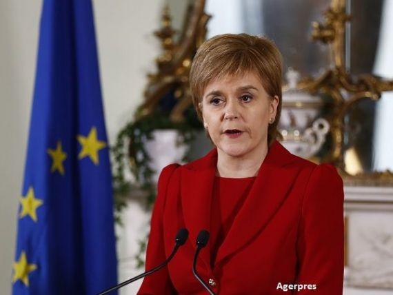 Un  hard Brexit  ar costa economia scoţiană 8,5% din PIB. Șefa guvernului de la Edinburgh vorbește din nou despre un referendum pentru independență