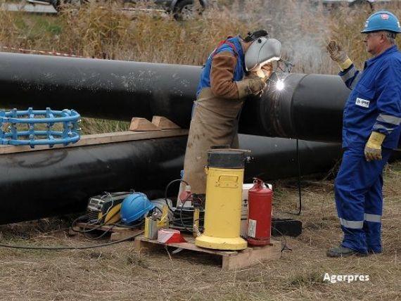 Finantare de 92 mil. euro de la UE, BERD si BEI pentru constructia unui gazoduct intre Romania si Rep.Moldova