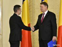 """Cei 26 de ministri au depus juramantul la Cotroceni. Iohannis, catre Dragnea: """"Va rog sa-i invatati si pe ei programul de guvernare"""""""