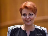 """Lia Olguta Vasilescu spune ca noul Guvern are pregatite sapte ordonante pentru cresterea salariilor si a pensiilor, care vor fi adoptate """"imediat"""""""