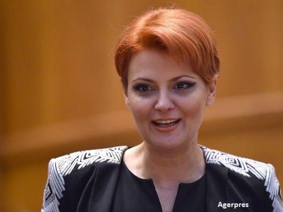 Lia Olguta Vasilescu spune ca noul Guvern are pregatite sapte ordonante pentru cresterea salariilor si a pensiilor, care vor fi adoptate  imediat