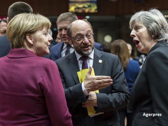 Marea Britanie se desparte de Europa printr-un  divort dur . Regatul se va retrage de pe piata unica, din uniunea vamala si din Curtea de Justitiea UE, in schimbul controlului asupra imigratiei