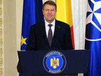 Klaus Iohannis a initiat procedura de organizare a referendumului pe tema gratiererii si a modificarii Codului penal