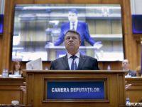 """Iohannis s-a adresat Parlamentului, in contextul modificarii legislatiei penale: """"Cum s-a ajuns aici, la numai o luna dupa alegeri? Nu va mai bateti joc de Romania! Ati castigat, acum guvernati!"""""""