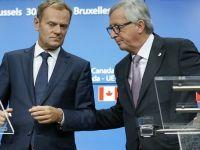 "Sorin Grindeanu se intalneste cu Juncker si Tusk, la Bruxelles. ""Vreau sa ii asigur pe partenerii nostri ca lupta impotriva coruptiei este prioritara in Guvernul pe care il conduc"""