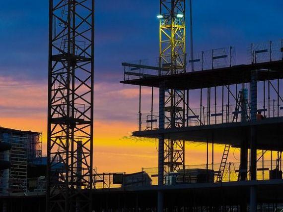 Construcțiile s-au prăbușit în ianuarie. Volumul lucrărilor a scăzut, în ianuarie, cu peste de 66%, față de decembrie