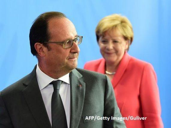Start pentru o noua Uniune Europeana. Liderii celor mai mari patru economii din UE se intalnesc in Franta. Hollande:  Daca nu vom face lucrurile diferit, Europa va exploda