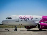 Wizz Air a transportat 1,45 mil. pasageri in T1, in crestere cu 34%. Compania opereaza 13 zboruri noi din Romania si are o flota de 21 de aeronave Airbus A320