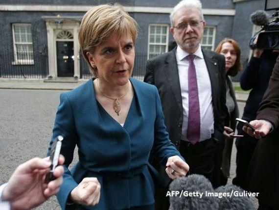 Soarta Scotiei s-ar putea decide in 8 iunie. Nicola Sturgeon spune ca May nu va mai avea niciun motiv sa refuze independenta, daca partidul sau va castiga alegerile