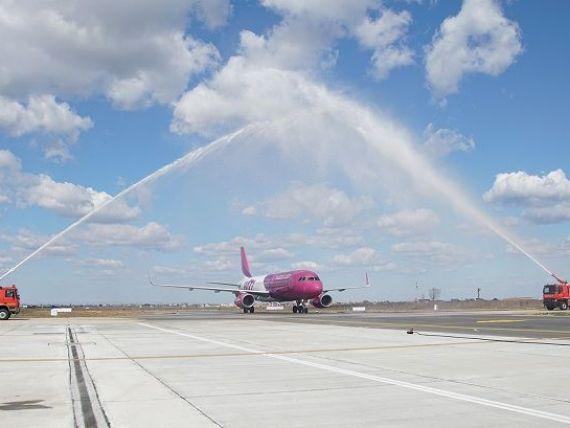Wizz Air aduce o noua aeronava la Craiova si lanseaza cinci rute noi cu plecare din Oltenia