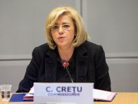 Corina Creţu: Principala preocupare a autorităților ar trebui să fie accelerarea cheltuirii banilor europeni. Avem miliarde de euro care aşteaptă la Bruxelles