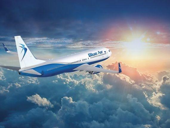 Cea mai aglomerată vară la Blue Air: 1,5 mil. pasageri transportați și o decolare la fiecare 9 minute. Destinațiile vedetă: stațiunile spaniole și insulele grecești