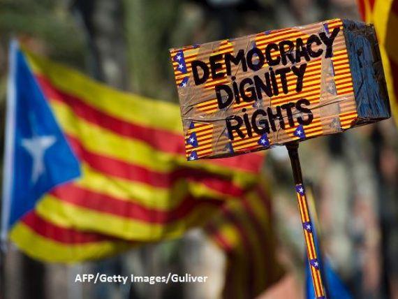 Primarii catalani care susţin referendumul pentru independență, convocaţi de justiţia spaniolă. Autoritățile confiscă toate materialele electorale