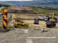 Ungurii construiesc autostrada care leagă Budapesta de România cu pietriș din Bihor. Ca să termine la timp, autotitățile au deschis punct special de trecere a frontierei pentru balastiere