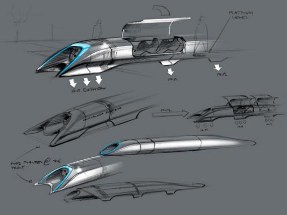 480 km, parcursi in 29 de minute. Norvegienii vor sa lege Oslo de Copenhaga prin Hyperloop, tehnologia inventata de Elon Musk