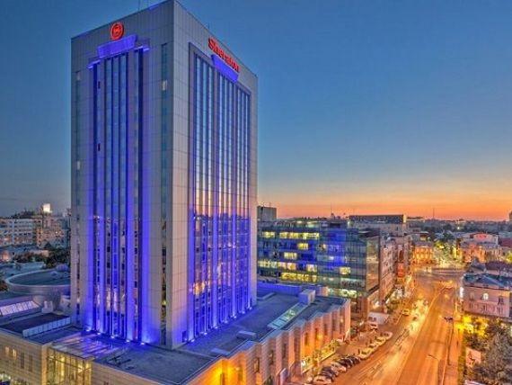 Hotelul Sheraton din Bucuresti a incheiat 2016 cu afaceri de 10 milioane euro si estimeaza o crestere cu 20%, in 2017