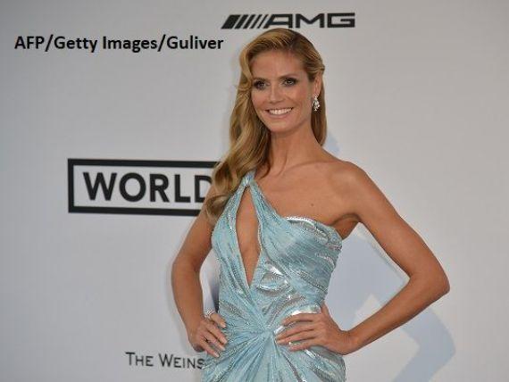 Lidl va comercializa o colectie vestimentara premium, creata de modelul Heidi Klum