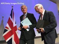 UE si Regatul Unit au stabilit prioritatile si calendarul pentru Brexit. Drepturile cetatenilor, frontiera dintre Dublin si Belfast si datoria Londrei catre Bruxelles, cele mai spinoase subiecte