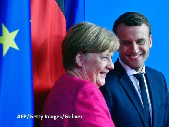 Merkel, gata sa reformeze Europa, alaturi de Macron. Cancelarul german ar fi de acord cu un buget comun si cu un ministru de Finante in zona euro