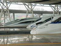 """China a inaugurat noua generatie de """"trenuri-glont"""", care ating 400 km/ora"""