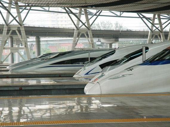 China a inaugurat noua generatie de  trenuri-glont , care ating 400 km/ora
