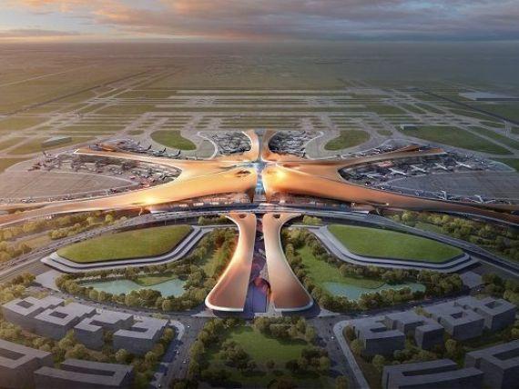 Cel mai mare hub aerian din lume se construieste la Beijing, cu 13 mld. dolari. Aeroportul va deservi peste 100 mil. de pasageri anual