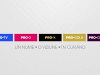 Universul ProTV isi reuneste toate canalele sub umbrela PRO. Acasa TV, Acasa Gold si Sport.ro isi schimba numele