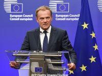 """Donald Tusk: """"Există un loc special în iad pentru arhitecţii campaniei de ieşire a Marii Britanii din UE."""" Miniștrii britanici vor amânarea Brexitului cu două luni"""