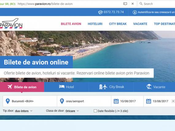 Paravion, una dintre cele mai mari agenții de turism din România, intră în insolvenţă, din cauza scăderii dramatice a afacerilor din Turcia