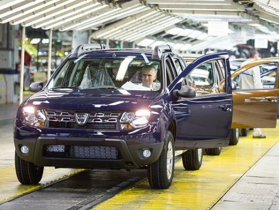 Dacia acordă o sumă compensatorie de 20%, pentru ca salariile angajaților să nu scadă odată cu transferul contribuțiilor