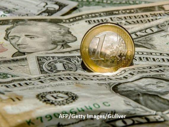 Cel mai slab leu din istorie, în raport cu dolarul american. Euro, cea mai ridicată valoare din ultimele 4 luni