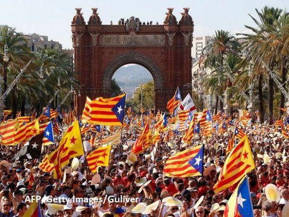 Catalonia este în grevă, după ce Madridul a refuzat să recunoască referendumul de duminică. Școli și spitale închise, transport public blocat