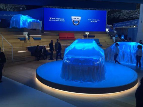 Noul Duster, prezentat la Frankfurt. SUV-ul de la Dacia pornește fără cheie, are un interior complet schimbat, dar aceleaşi motoare
