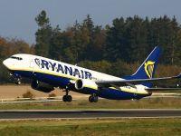 Promoție fuger la Ryanair. Bilete cu 9,99 euro pe toate rutele