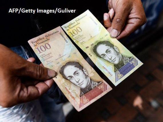 Maduro își face monedă virtuală, pentru a lupta împotriva  blocadei financiare a SUA . Unele agenții de rating consideră Venezuela în default parțial